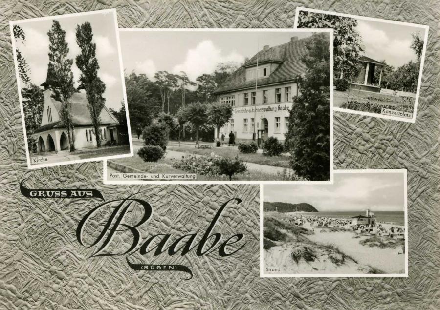 Gruss aus Baabe Rügen