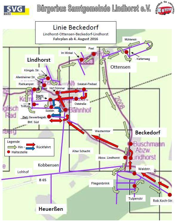 Linie 3 Beckedorf Bild