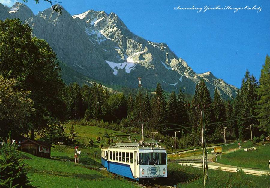Zugspitze Zahnradbahn