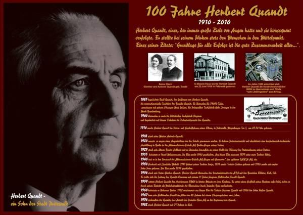 100 Jahre Herbert Quandt
