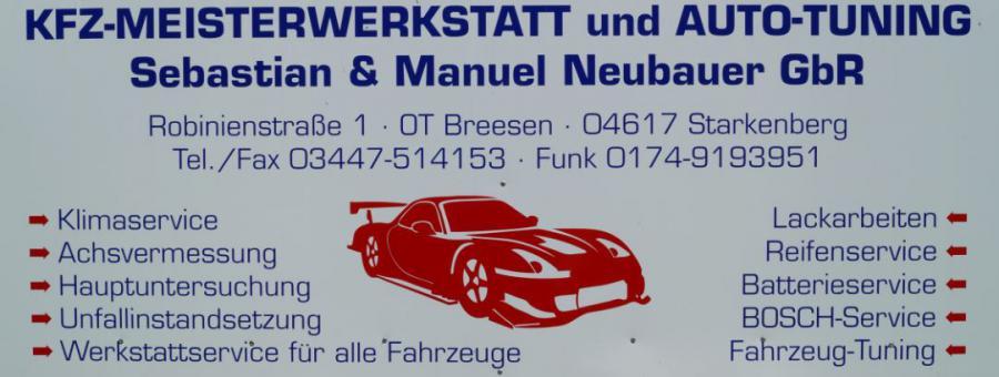 KFZ-Meisterwerkstatt Neubauer