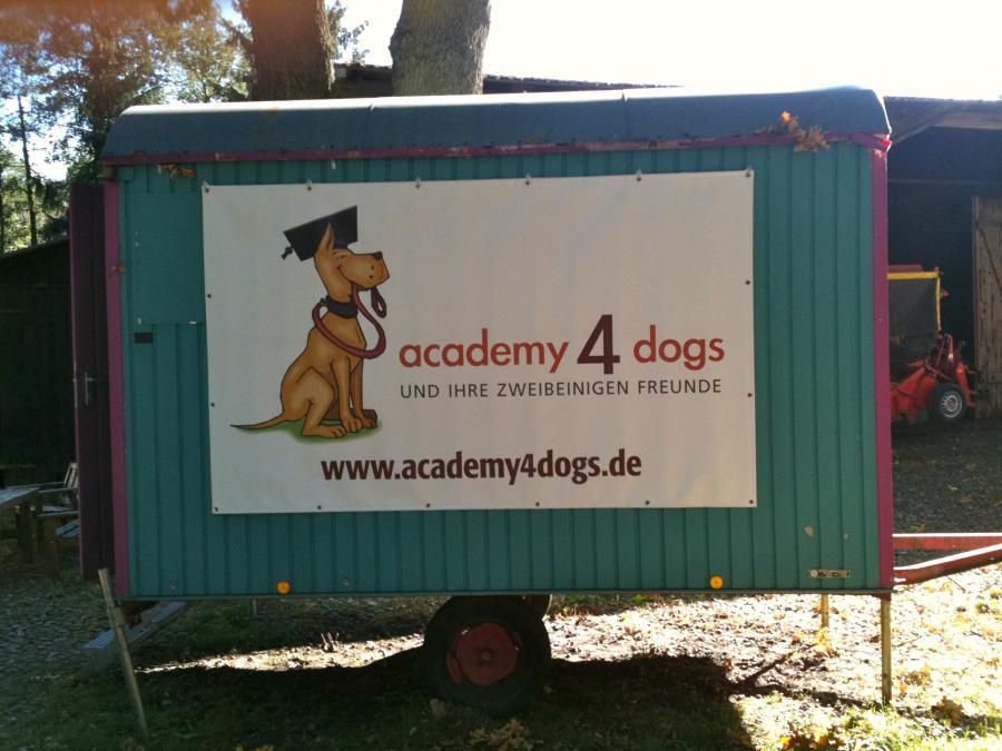 Bauwagen Logo Hundeschule