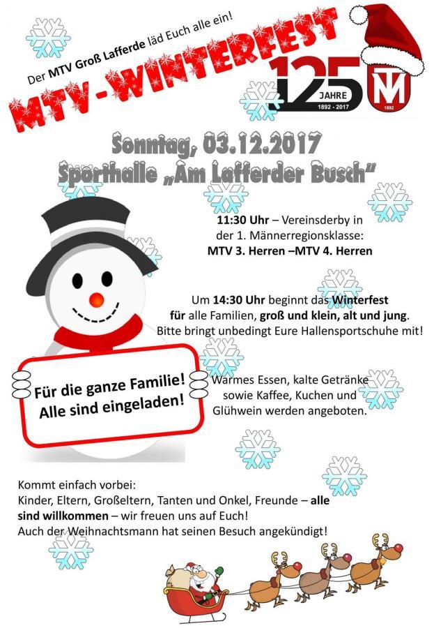 Ankündigung Winterfest