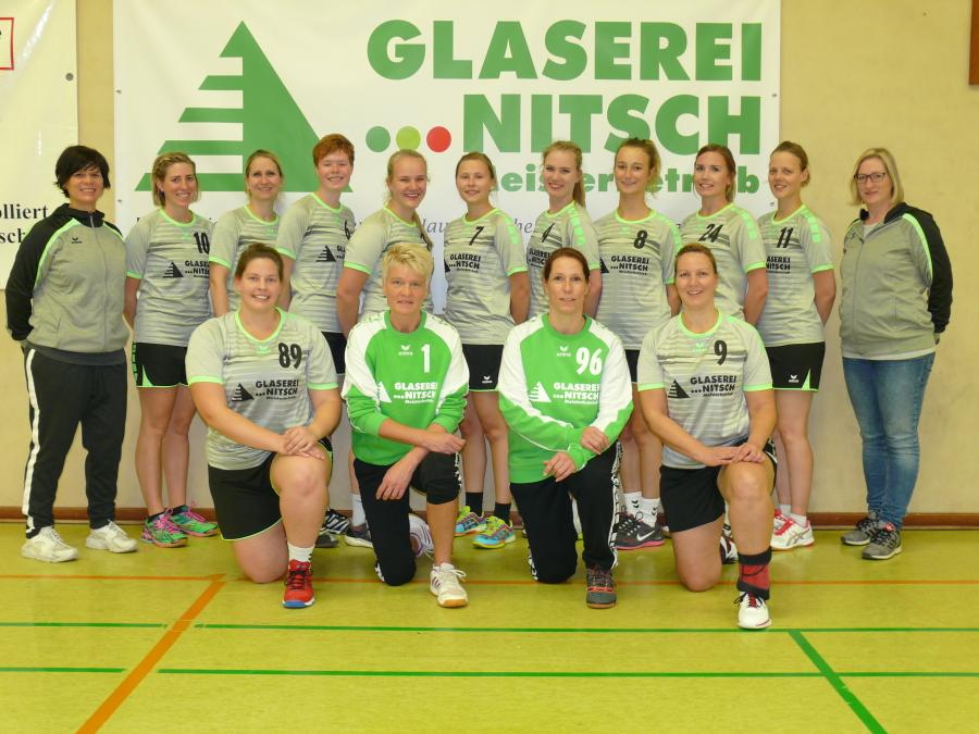 Mannschaftsfoto der 3. Damen (Saison 2018/19)