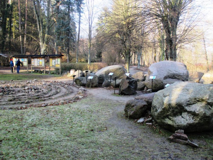 Der Eiszeitgarten am Buckower See