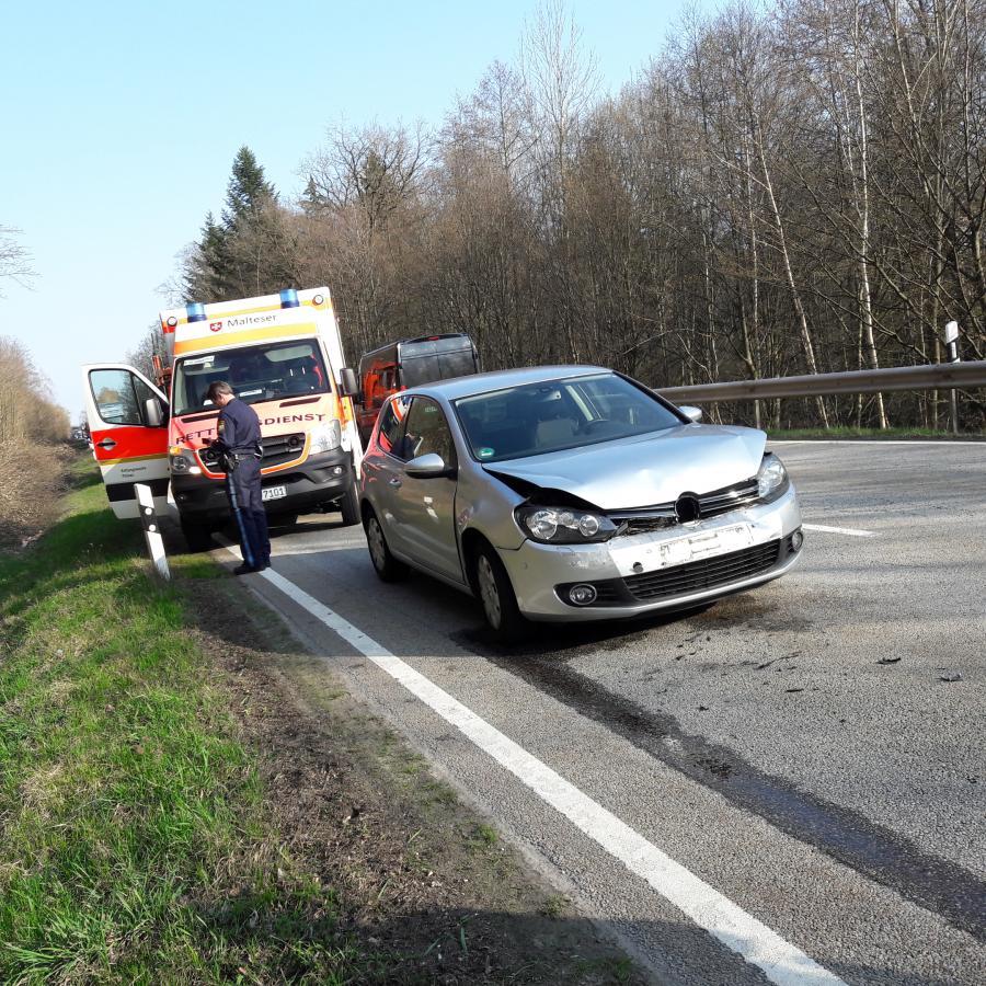Verkehrsunfall Autobahnzubringer 01.04.2019