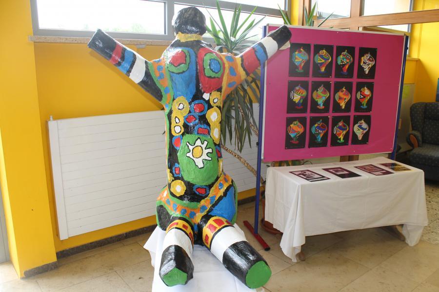 Kunstausstellung 3a-4
