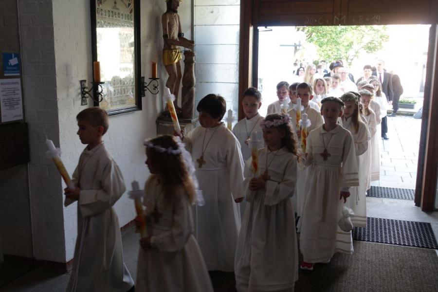 Kommunion Miltach Blaibach 2019 7