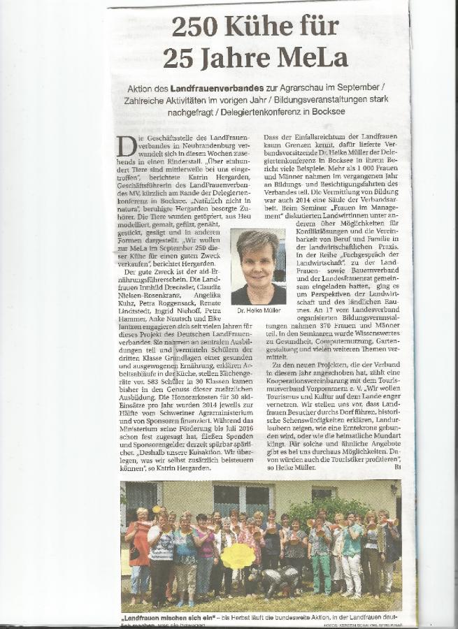Deligiertenversammlung Landesverband 13.6.15 in Bocksee