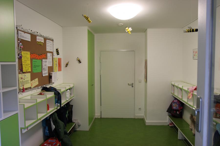 Eingangsbereich der Kita EVÎN für Kinder unter 3 Jahre