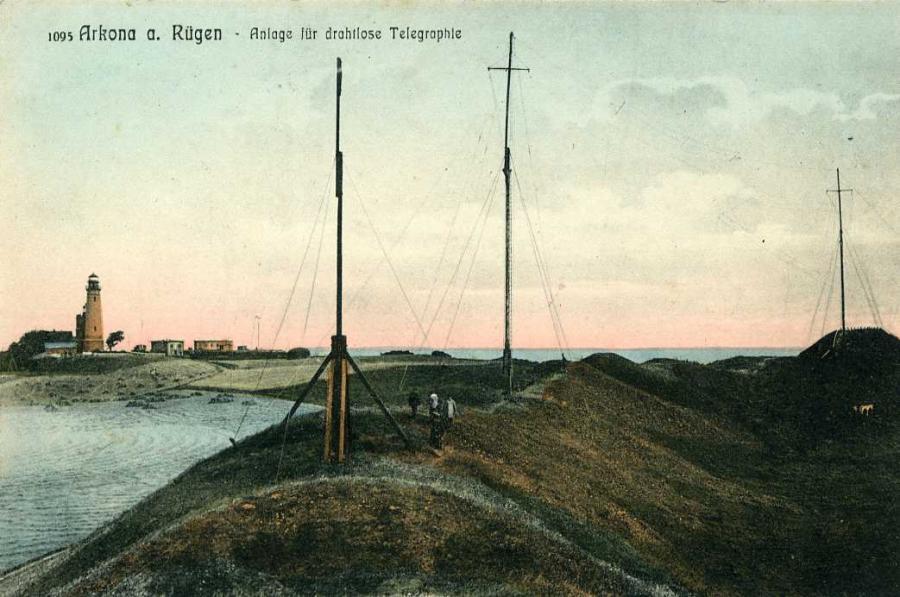 Arkona a.Rügen Anlage für drahtlose Telegraphie