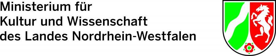 Ministerium für Kultur und Wissenschaft des Landes Nordrhein-Westfalen - Logo