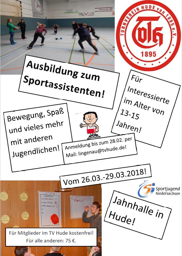 Sportassi-Ausbildung