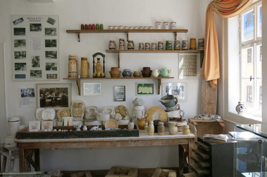 Porzellan- und Keramikherstellung