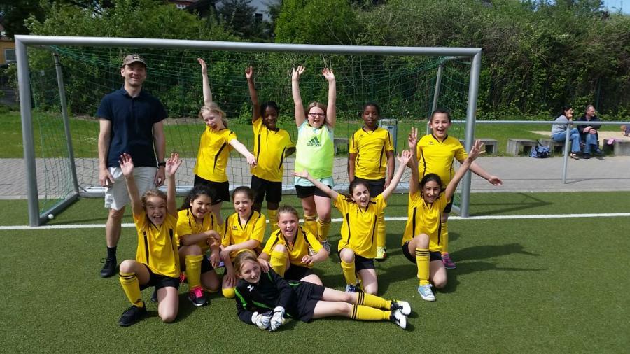 Fußballer-Mädchen