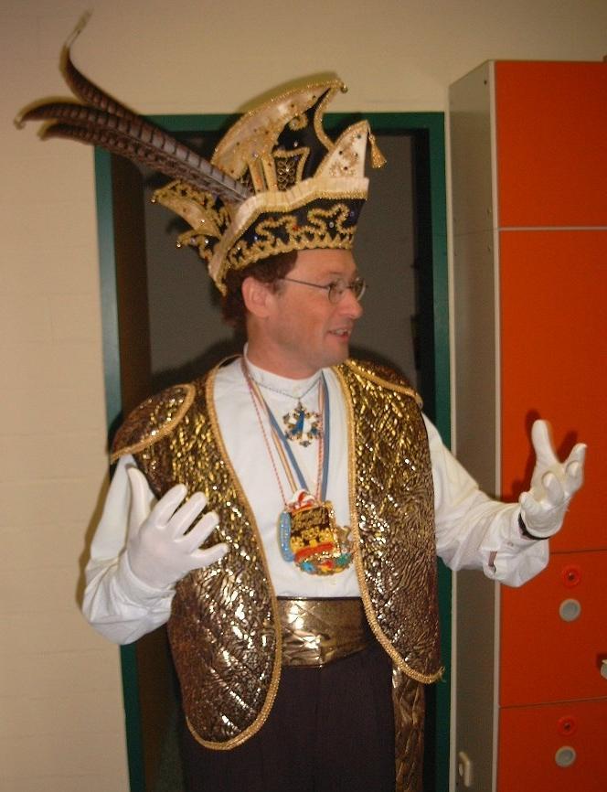 Herr Martin: Einmol Prinz zo sin ...