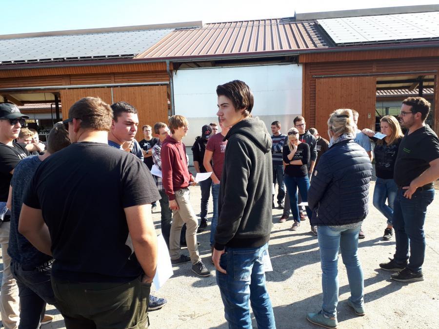Besuch auf dem Karlshof in Roßdorf