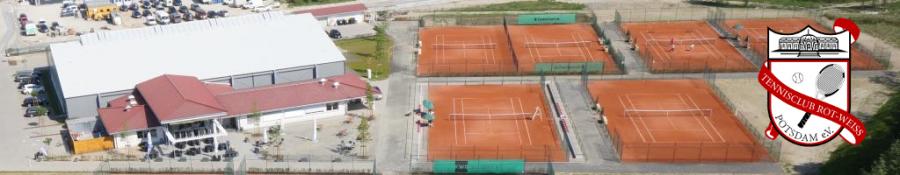 Die neue Tennisanlage in Potsdam