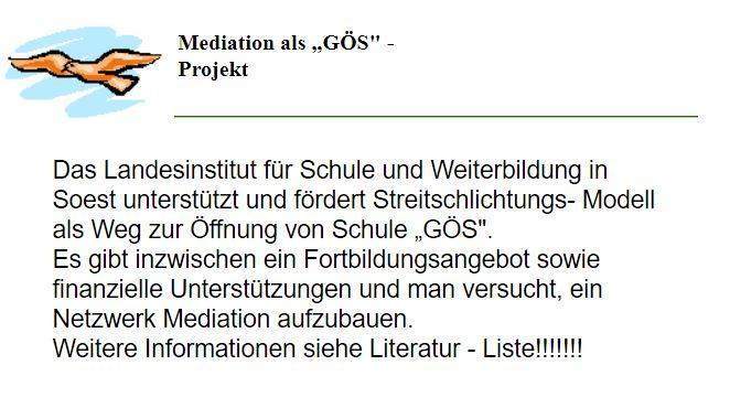 Realschule Lohmar - Mediation als \