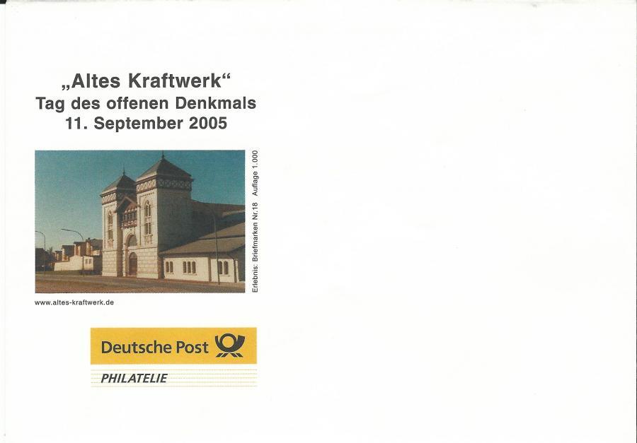 4505-Tag des offenen Denkmals 2005 - Umschlag