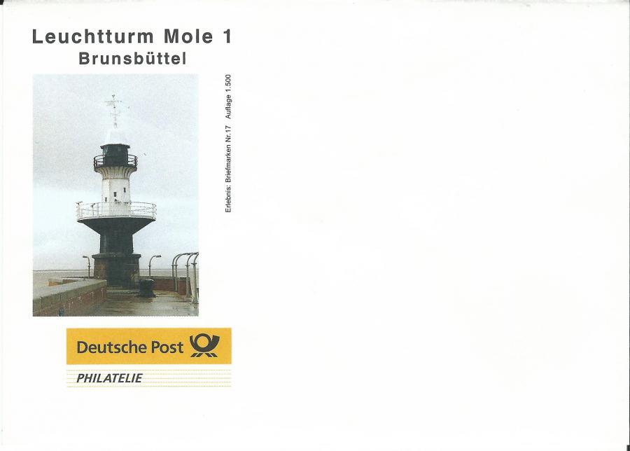 4506-Leuchtturm Mole 1 Brunsbüttel