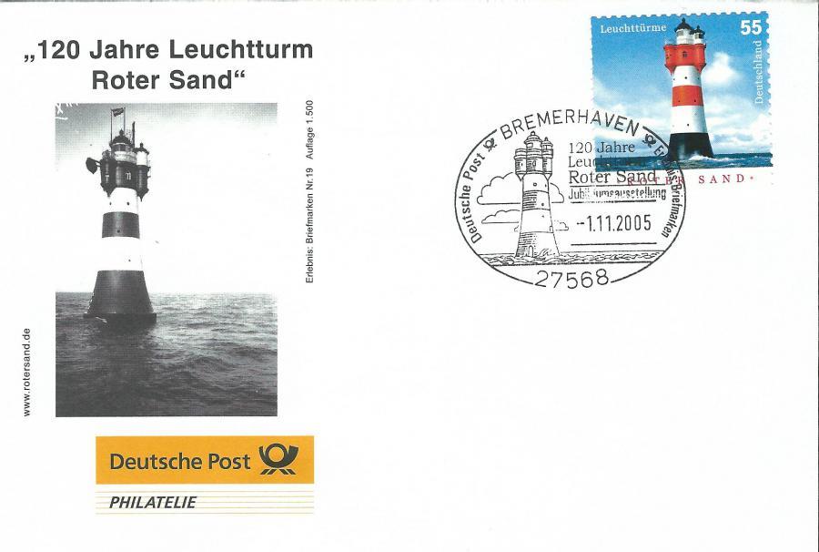 4509-120 Jahre Leuchtturm Roter Sand 2005
