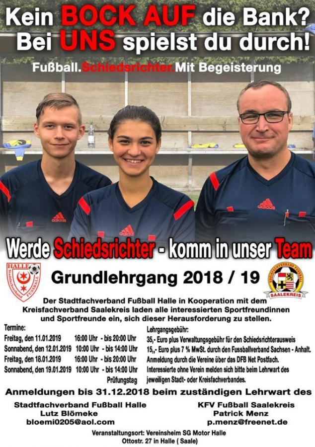 Schiedsrichterausbildung 2019