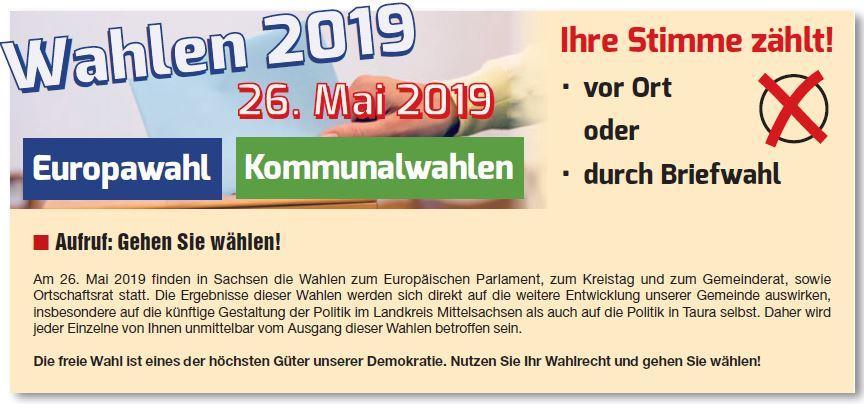 Wahlaufruf 2019