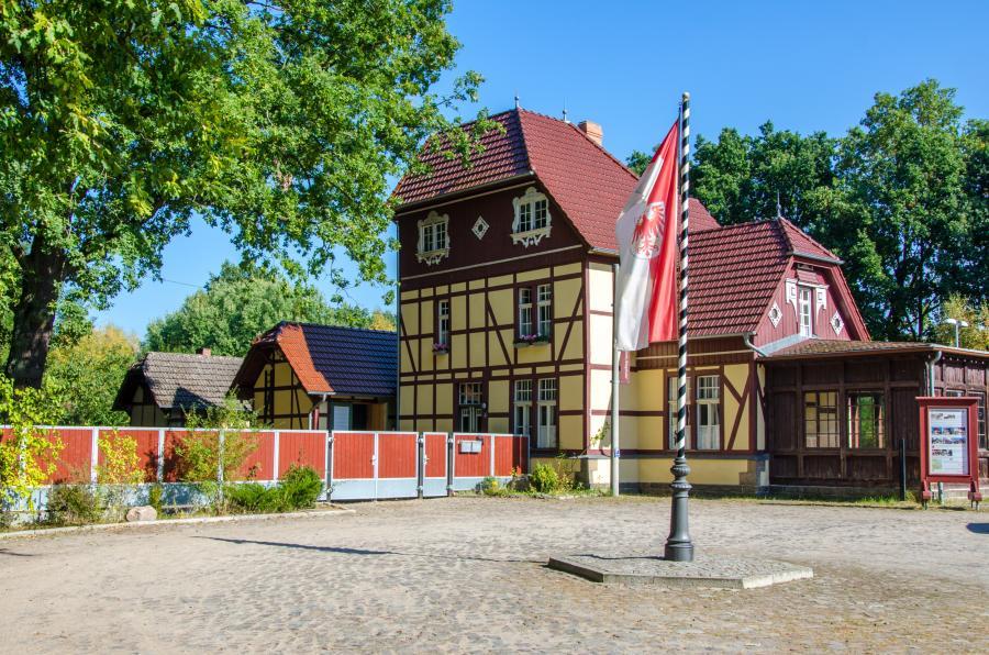 ehemaliges Stationsgebäude
