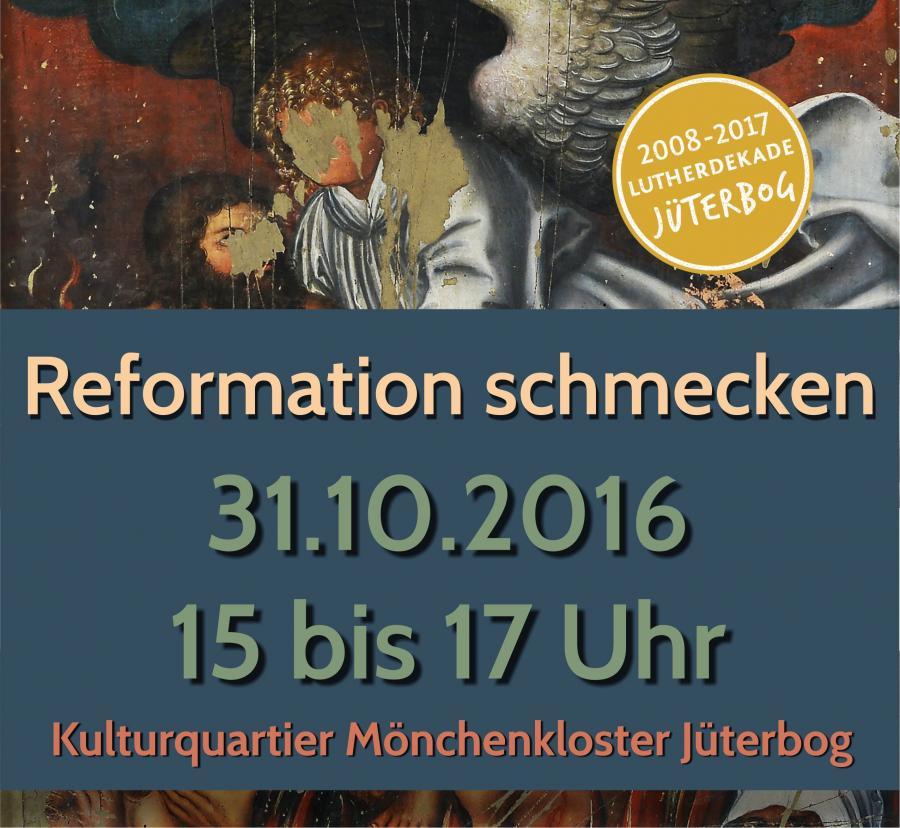 Reformation schmecken