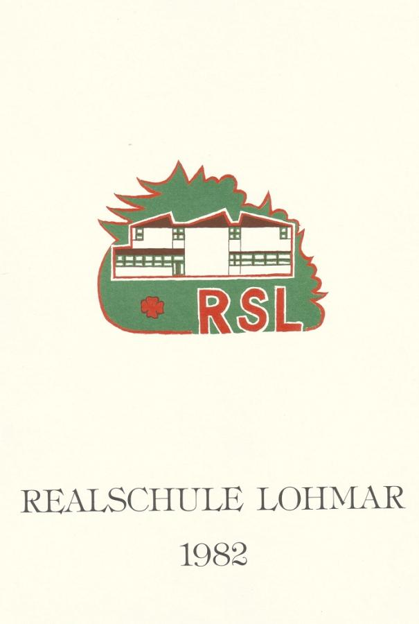 Schulkalender 1982
