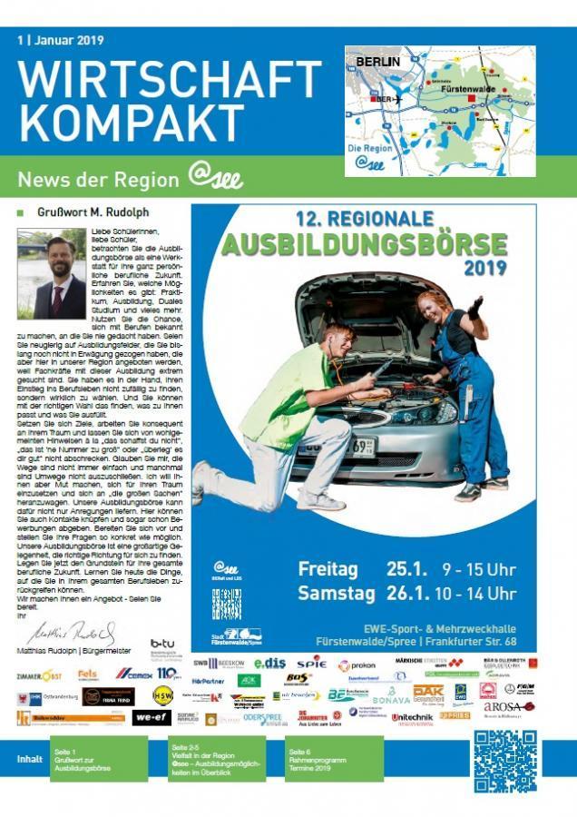 Newsletter Wirtschaft kompakt 01/19