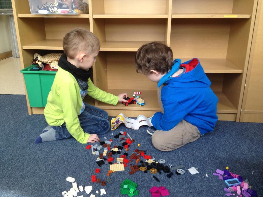 Lego für Saphirgruppe 1