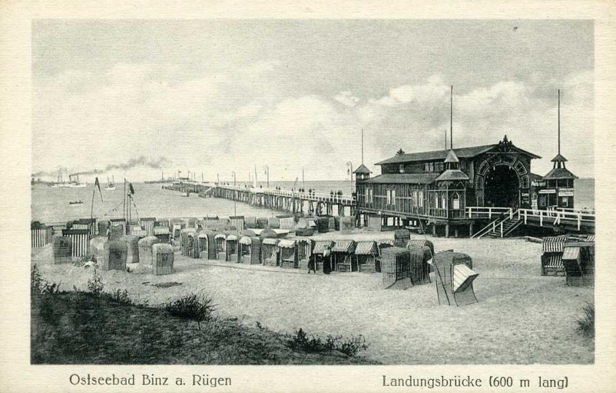Ostseebad Binz a. Rügen Landungsbrücke
