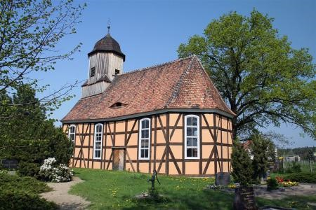 Fachwerkkirche in Kremitz