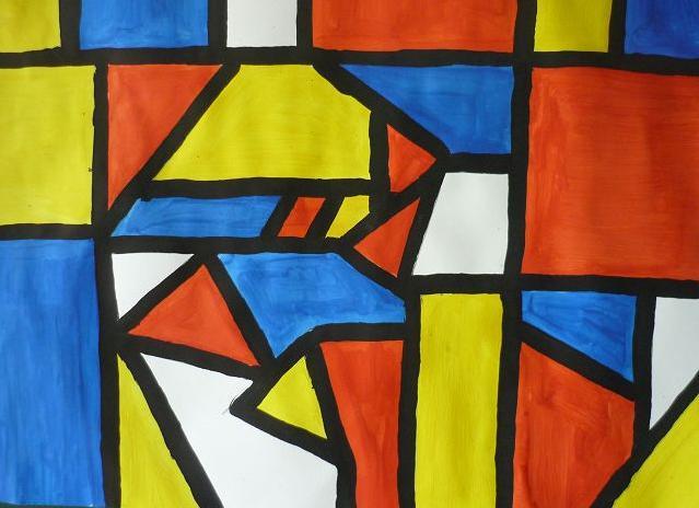 Mondrian von Nele