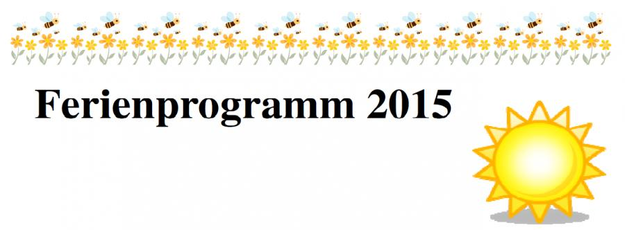 Logo Ferienprogramm