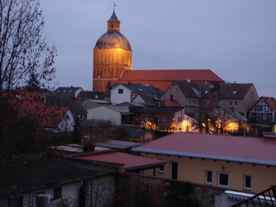 Kirche mit Licht