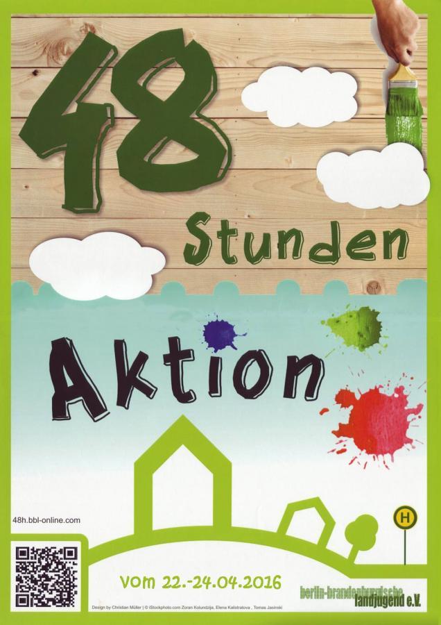 Plakat 48 Stunden-Aktion Spree Neiße