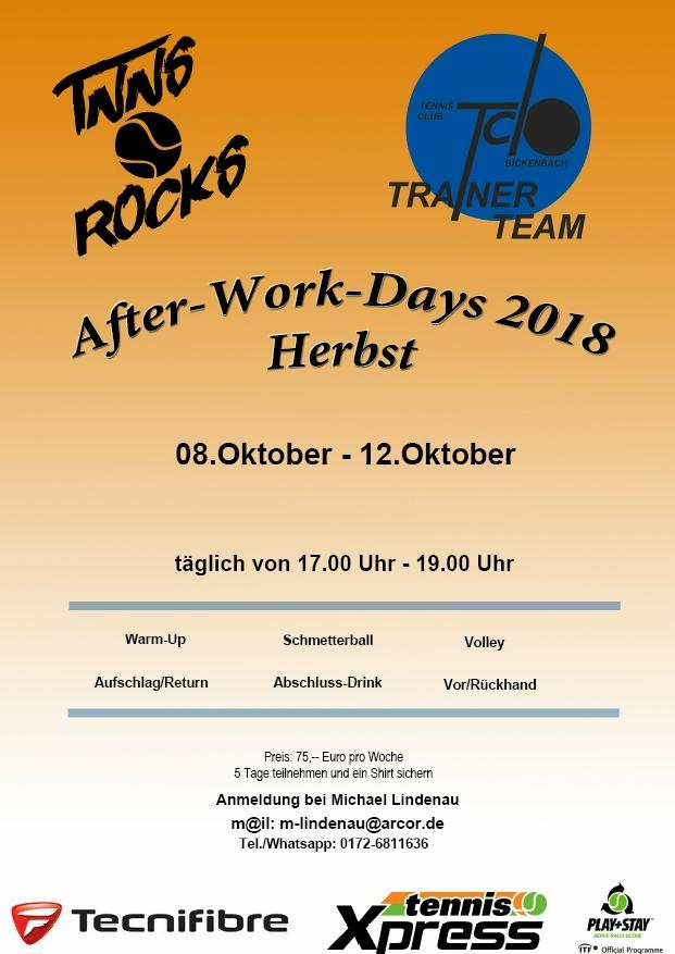 After Work Herbst