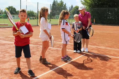 Schulfest 2014 Tennisplatz