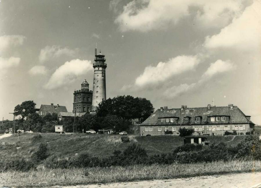 Leuchtturm Kap Arkona Insel Rügen 1970