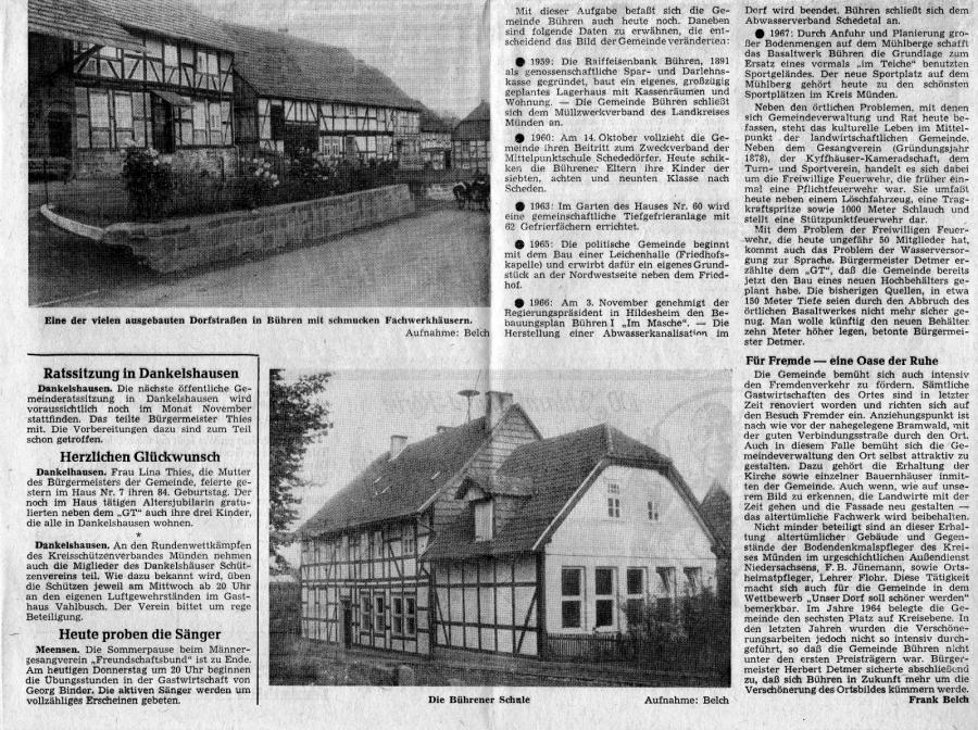 Bericht Göttinger Tageblatt Teil II