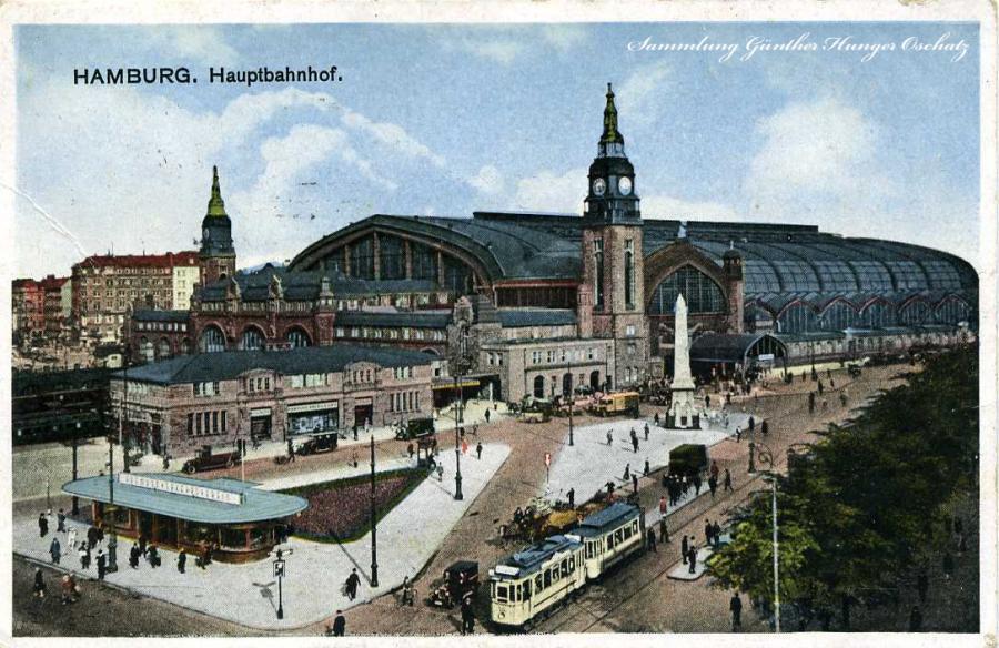 Hamburg Hauptbahnhof 1932