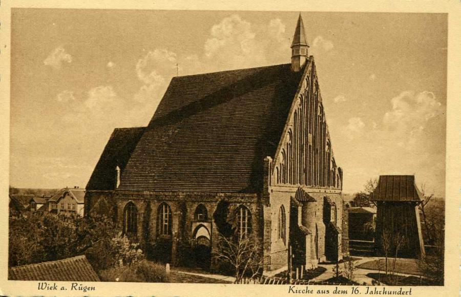 Wiek a. Rügen  Kirche aus dem 16. Jahrhundert