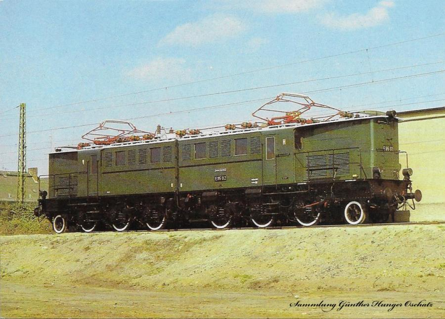 100 Jahre E-Lok Verkehrsmuseum Dresden  Elektrische Güterzuglokomotive der Baureihe E 95