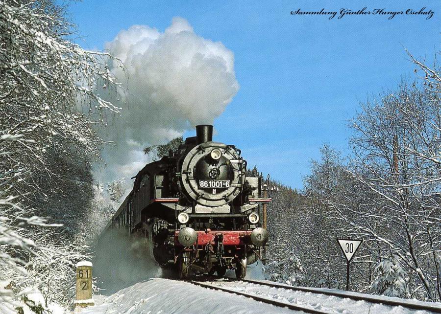 Güterzugdampflokomotive 86 1001