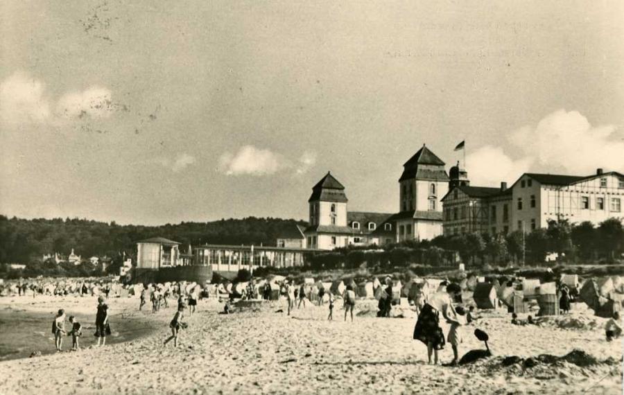Ostseebad Binz Rügen Strandleben