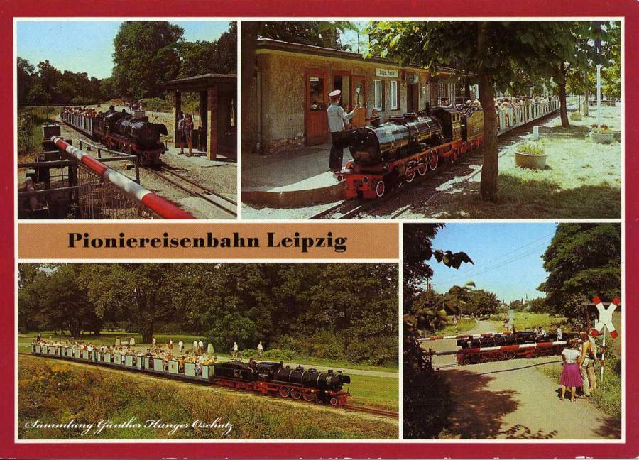Pioniereisenbahn Leipzig 1986