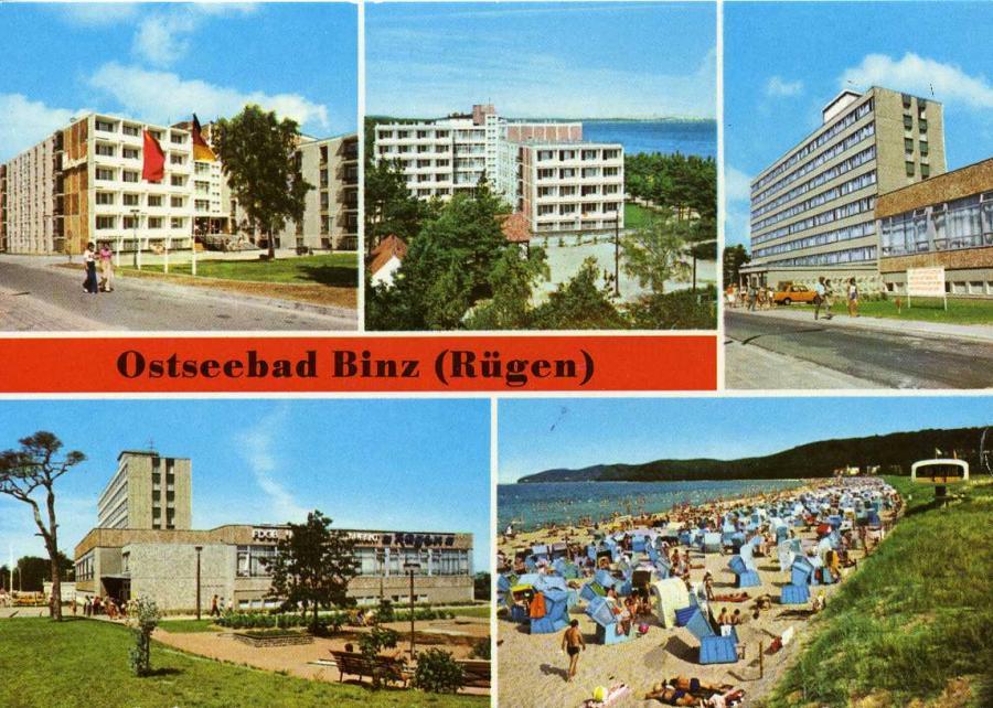 Ostseebad Binz 1980
